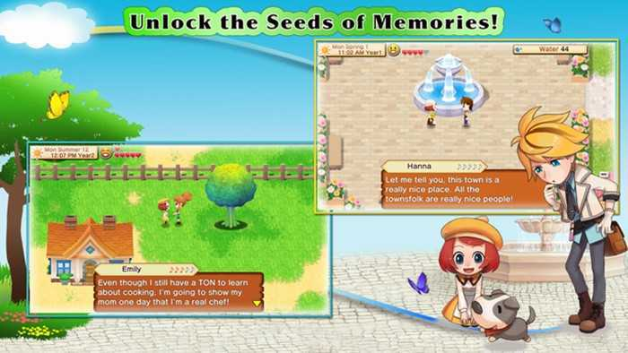 Harvest Moon: Seeds of Memories screen