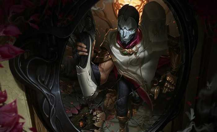 Jhin Splash Art