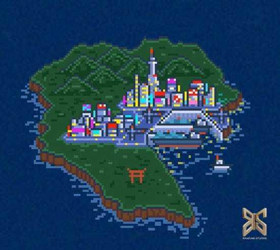 kadek new map