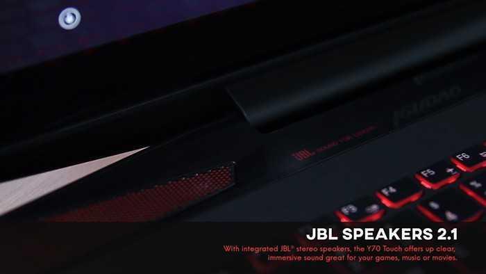 Lenovo Y70 Speakers