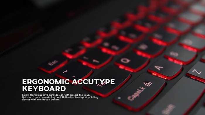 Lenovo Y70 keyboard