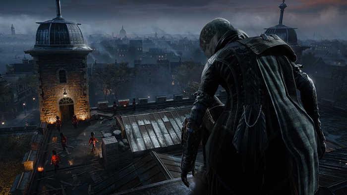 Assassin's Creed night scene