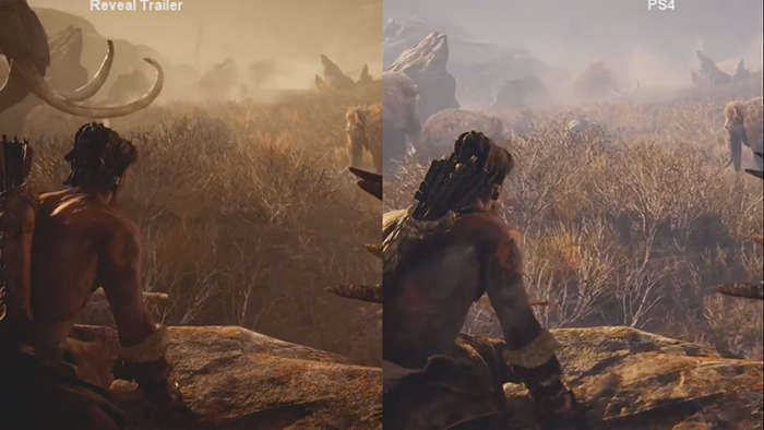 Far Cry Primal 2015 - 2016 comparison