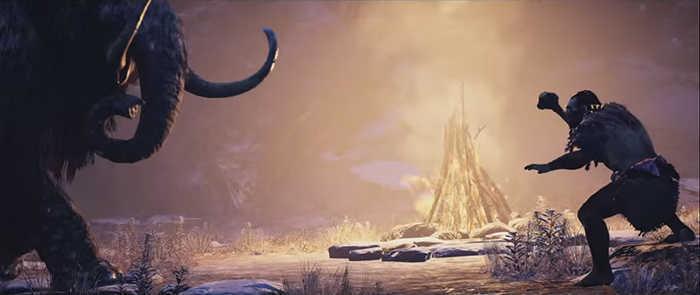 Far Cry Primal Mammoth vs. Hunter
