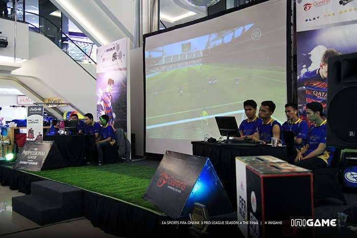 FIFA Online 3 Pro League Season 4 match