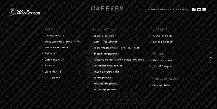 kojima-productions-job-vacancy