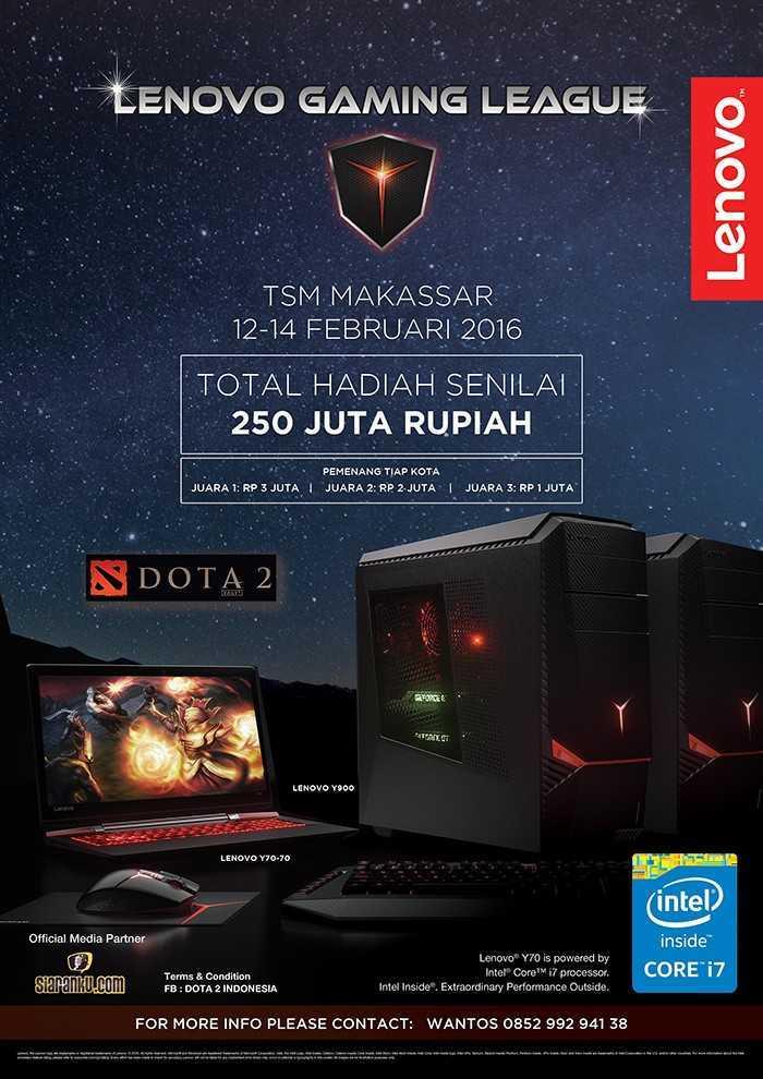 Lenovo Gaming League Makassar