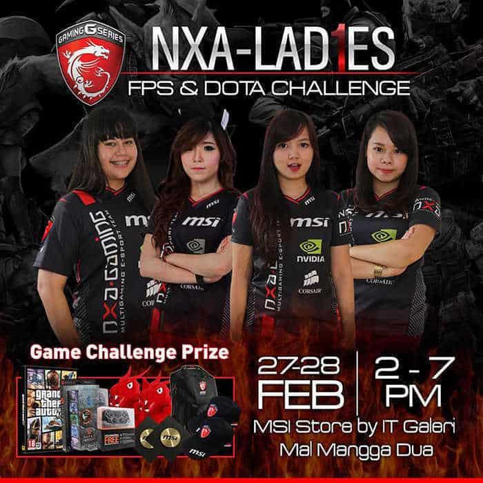 NXA Ladies