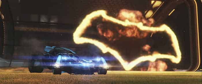 Rocket League Batmobile DLC