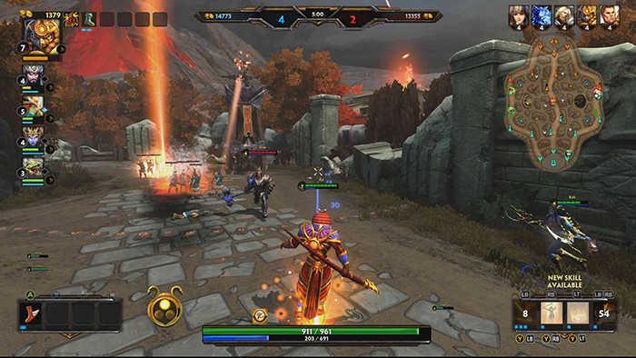 smite-gameplay