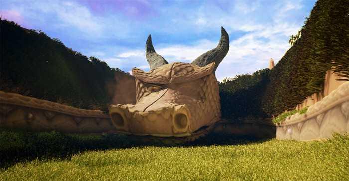 Spyro the Dragon in Unreal Engine 4