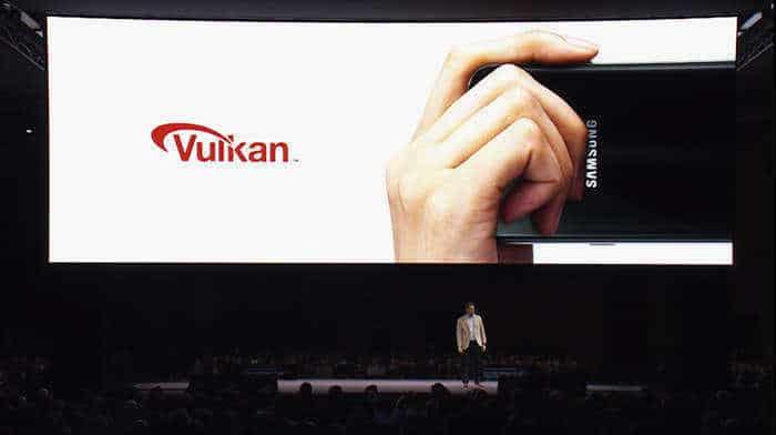 Samsung Galaxy S7 vulkan