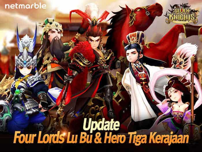Seven Knights Lu Bu
