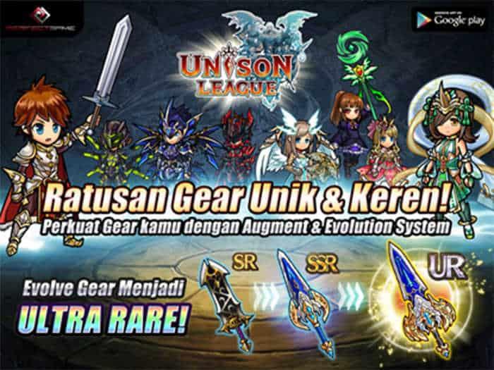 unison league indonesia gear evolve