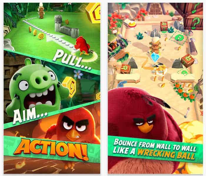 Angry Birds Action description