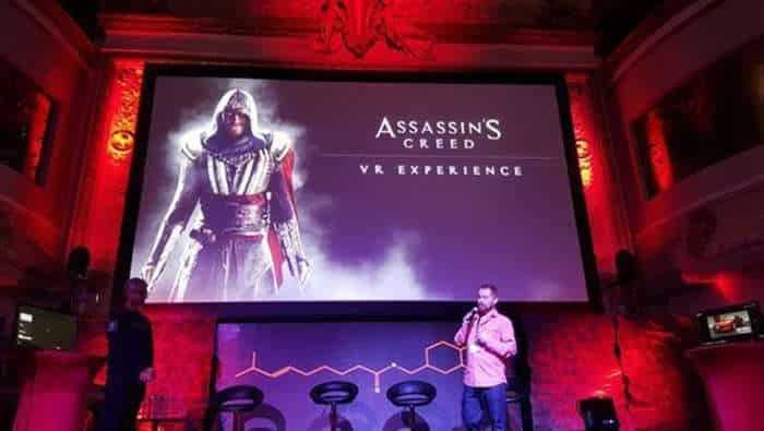 Assassin's Creed VR presentation