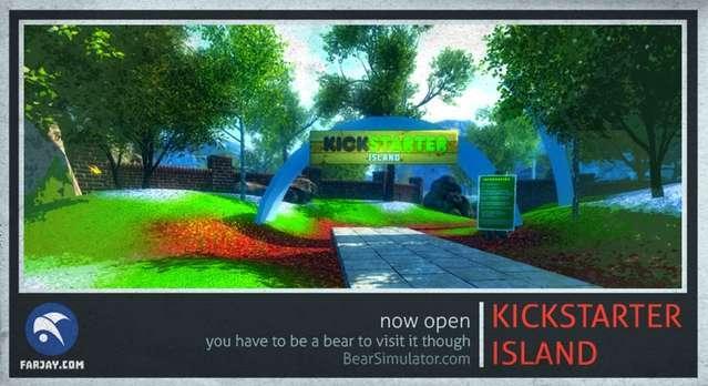 Bear Simulator Kickstarter Island