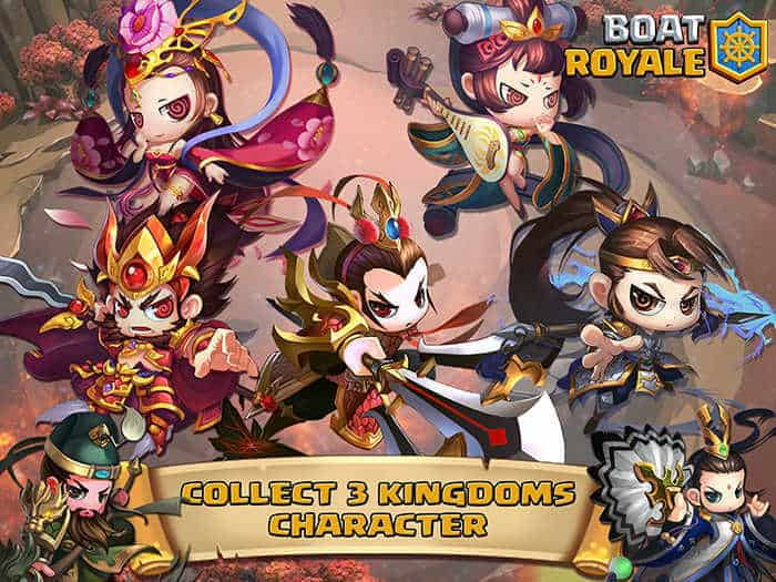 boat-royale-collect-3-kingdoms-characters