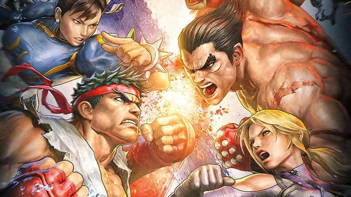 Street Fighter X Tekken poster