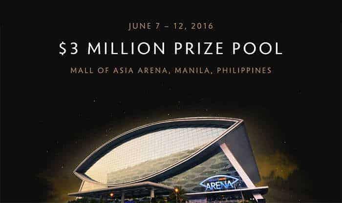 The Manila Major prize pool