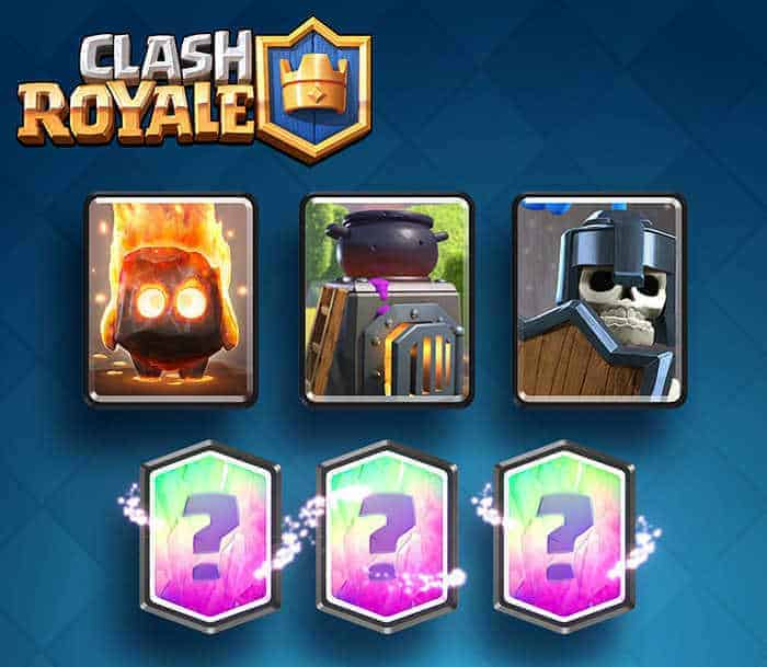 Clash Royale Update cards 1