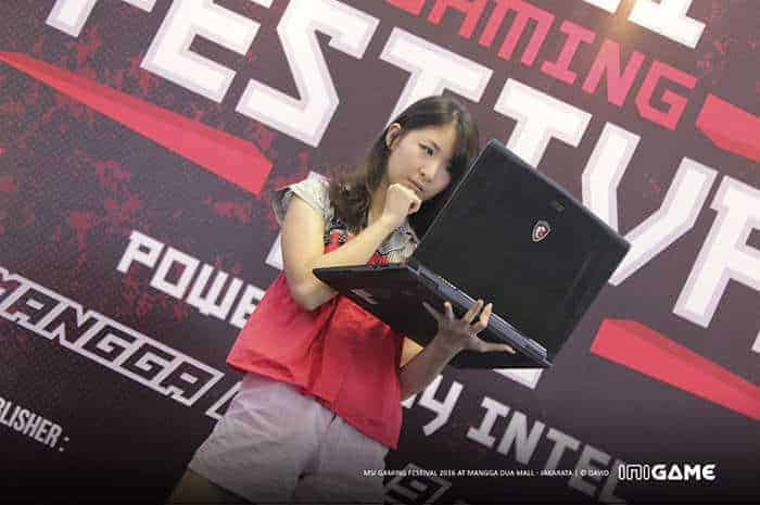 msi gaming festival 2016 model 1