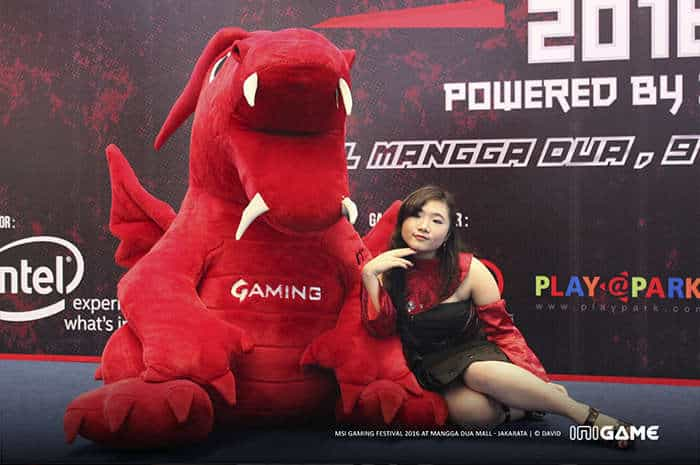 msi gaming festival 2016 model 7