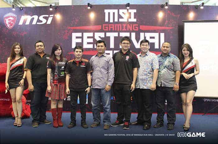 msi gaming festival 2016 stage
