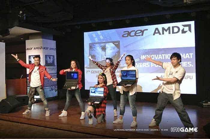Acer E5 553G Launching