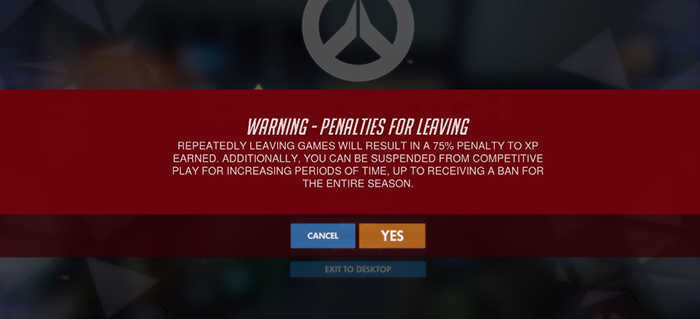 overwatch penalties warning
