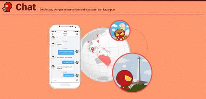 aplikasi garena mobile chat