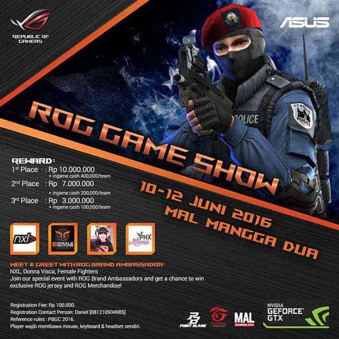 ASUS ROG Point Blank