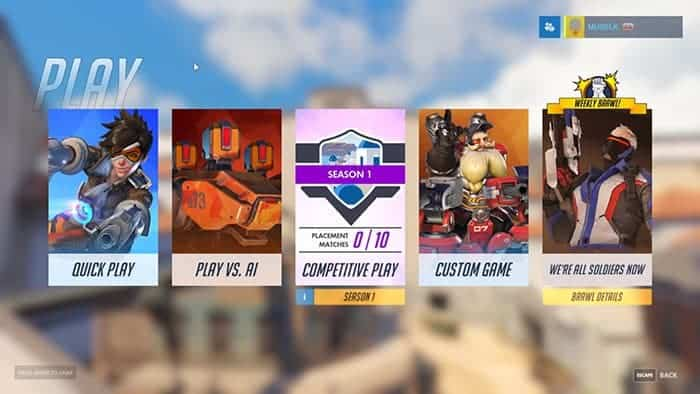 overwatch competitive play