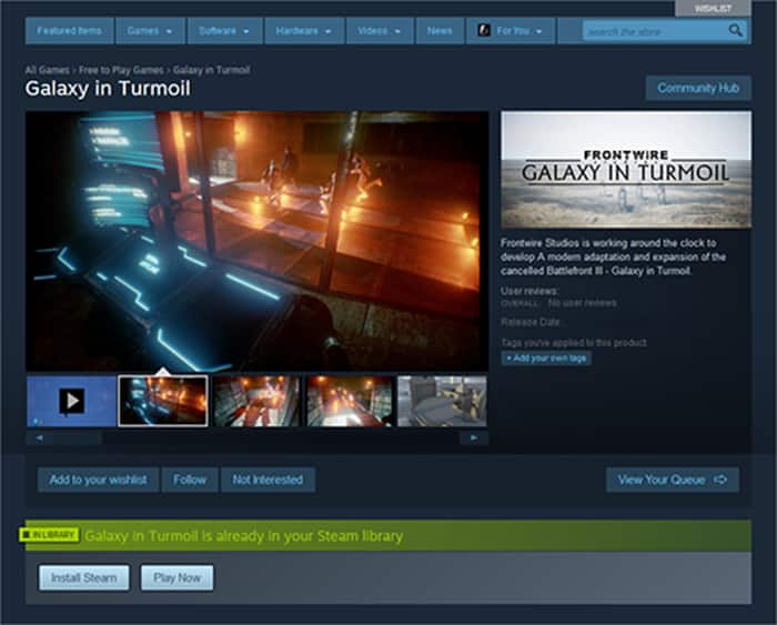 galaxy in turmoil steam