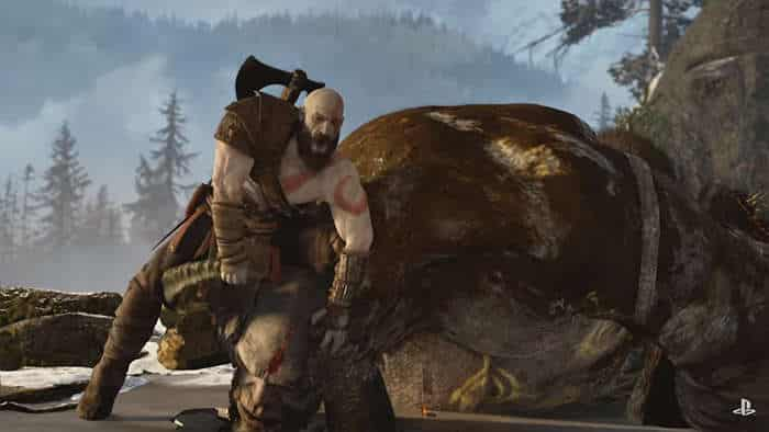 god of war 4 gameplay fight
