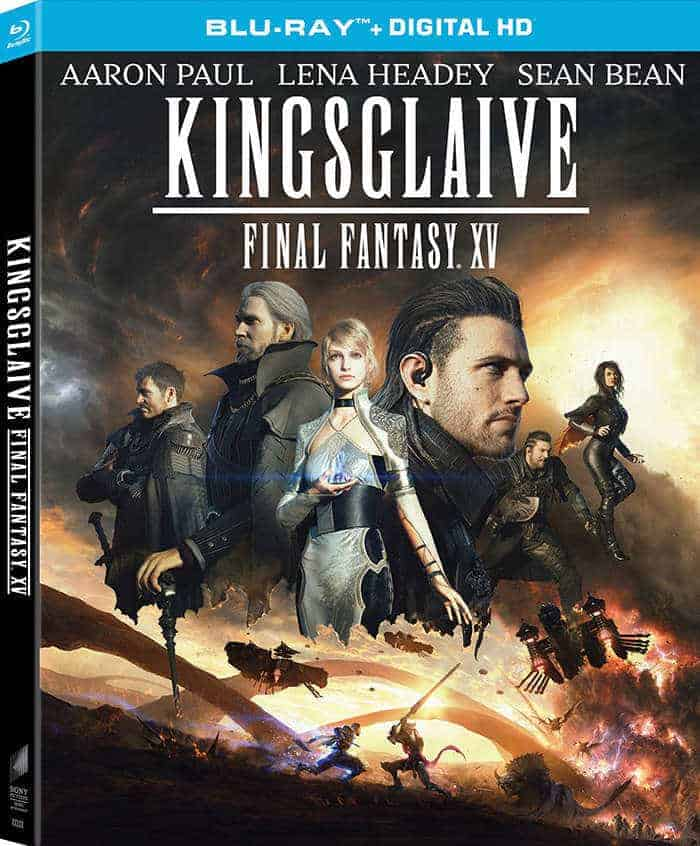kingsglaive final fantasy xv blu ray 4 oktober