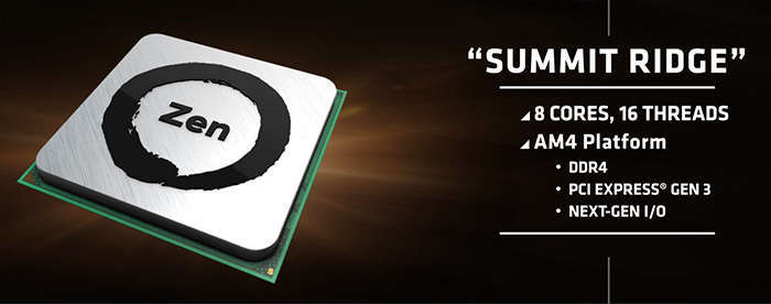 amd zen processor summit ridge
