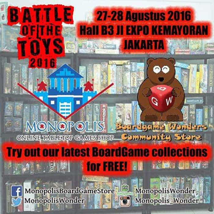 battle of the toys 2016
