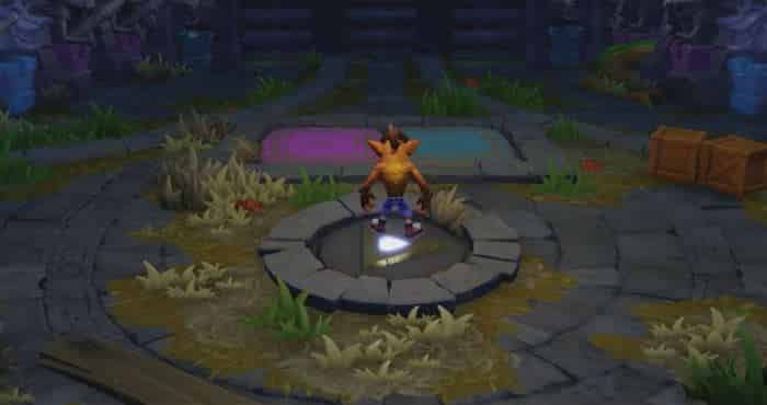crash bandicoot skylanders footage