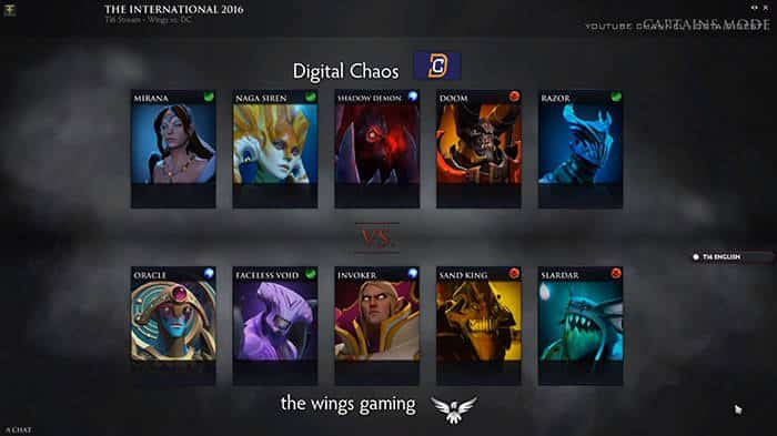 draft game 2 the international 6 wings gaming digital chaos