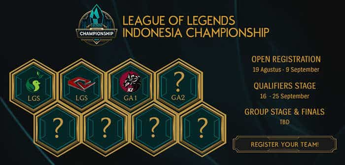 league of legends indonesia championship 2016 qualifier