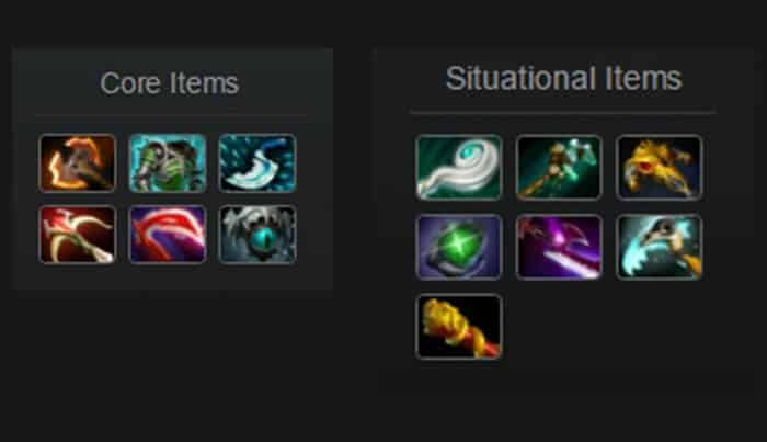 underlord mid late items