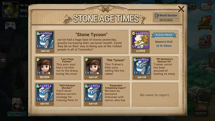 stone age begins age times
