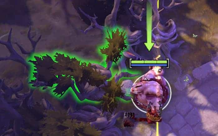 dota 2 pudge eat tree