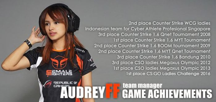 female fighters audrey