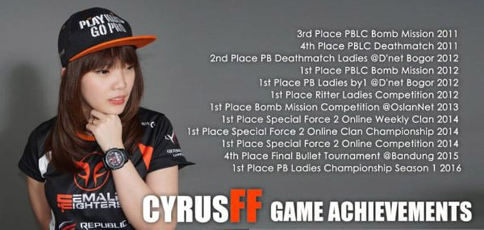 female fighters cyrus