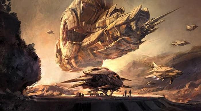 project titan artwork