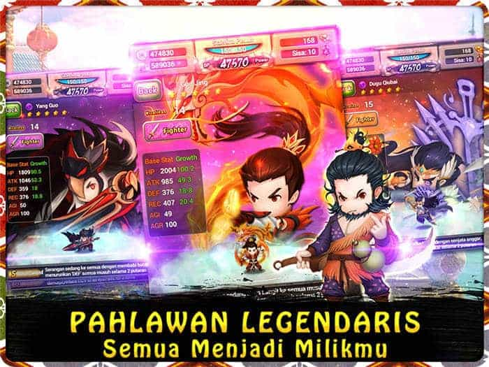 swordsman legend pahlawan legendaris