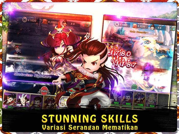 swordsman legend stunning skills