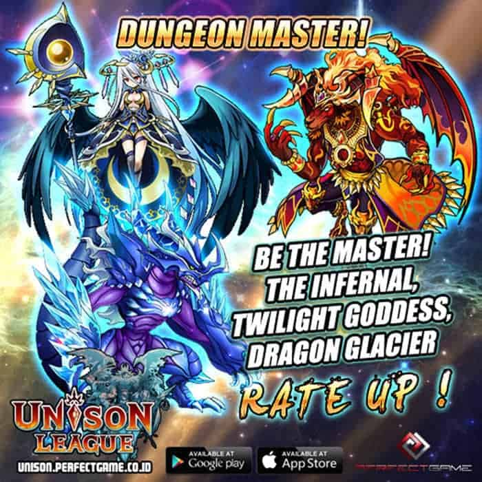 unison league indonesia update special dungeon